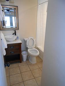Motel bath